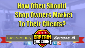auto repair how often marketing