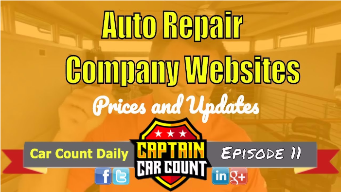 Importance and Price of An Updated Auto Repair Website