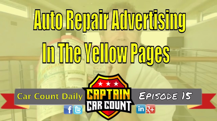 Putting An Auto Repair Ad In The Yellow Pages