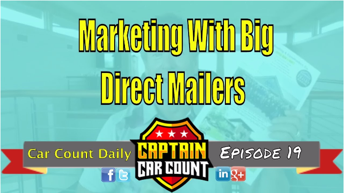 Automotive Marketing With Big Direct Mailers