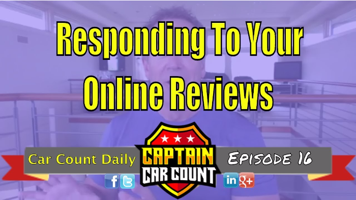 Responding To Your Auto Repair Shop's Online Reviews