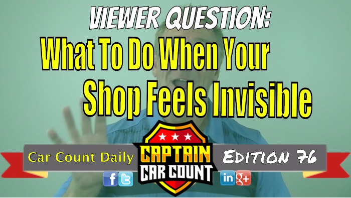 What To Do When Your Shop Feels Invisible (Viewer Question)