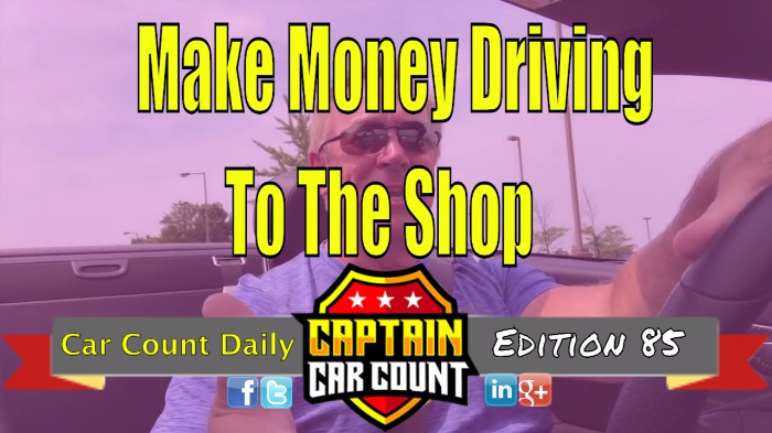 How To Make Money Driving To The Shop