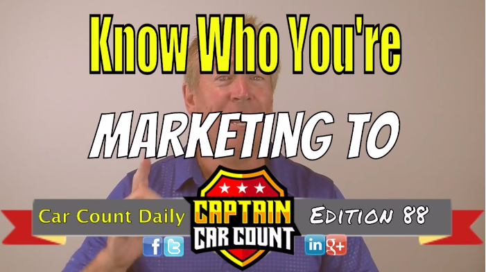 Know Who You're Marketing To