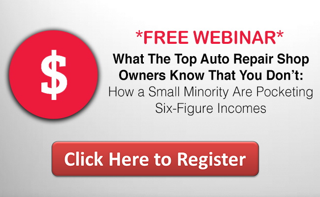 Top Shop Owner auto repair webinar