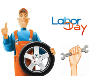 auto repair labor day thank you