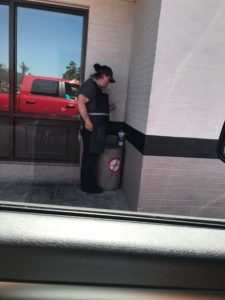 McDonald's Employee Cigarette